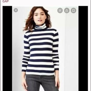 GAP the Bowery Striped turtleneck